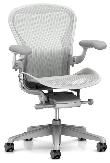 Herman Miller Aeron Task Chair Zonal Back Support Adjustable Arm