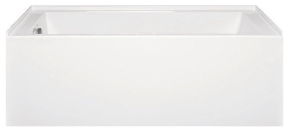Turo 6034 Left Hand, Builder Series, Bathtub, White.