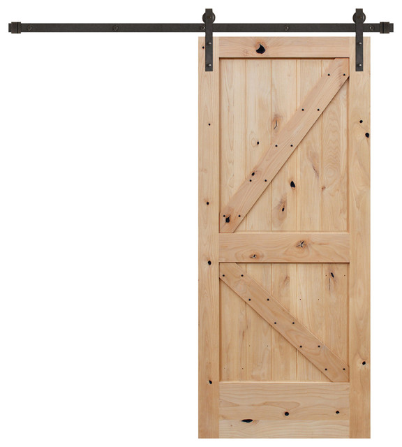 Shop houzz creative entryways unfinished interior knotty for Door design with groove