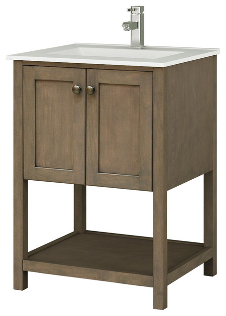 Fancy Farmhouse Bathroom Vanities And Sink Consoles by Chans Furniture