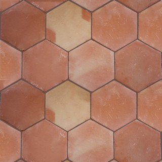 5 pcs hexagon clay saltillo tile wall and floor tile for 14 wall street 23rd floor