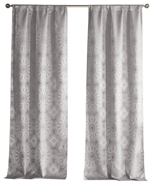 Elsa Pole Top Pair Panel, Set Of 2, Steel Gray.