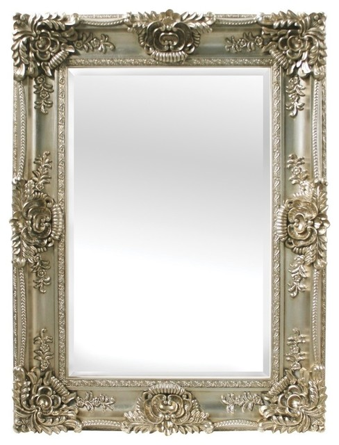 Mayfair Bevelled Wall Mirror, Champagne.