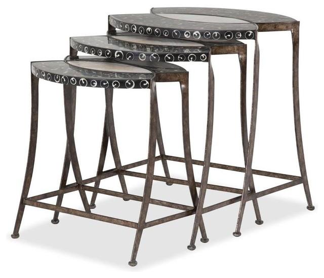 Aico Michael Amini Aico Michael Amini Discoveries Series 100 Nesting Table View In Your Room