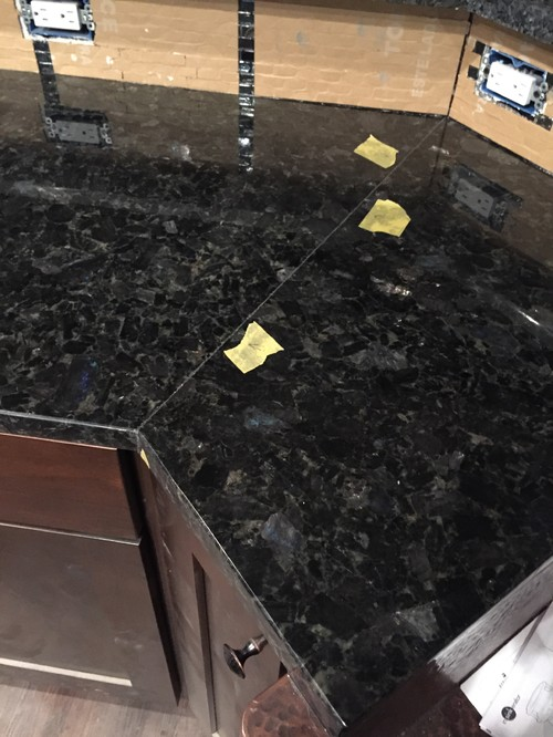 Superieur Awesome Can You Recut Granite Countertops #18   Is This Typical For Granite?