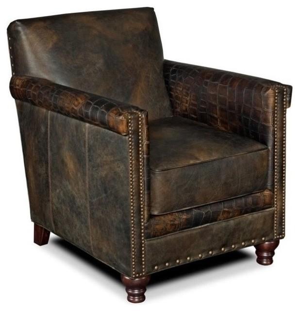 Strange Beaumont Lane Leather Club Chair In Old Saddle Fudge Spiritservingveterans Wood Chair Design Ideas Spiritservingveteransorg