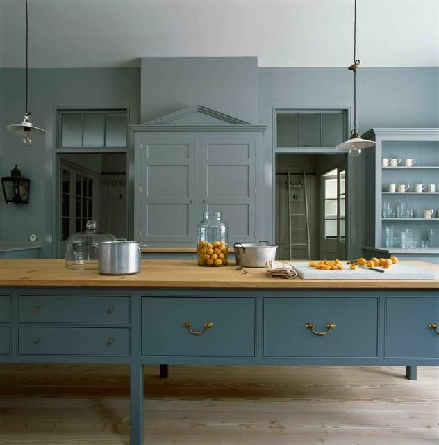Plain Kitchen Cabinets: The Spitalfields Kitchen