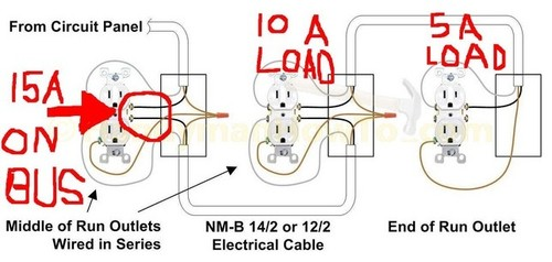home design wiring diagrams multiple receptacle outlets do it yourself help wiring receptacles in series at gsmportal.co