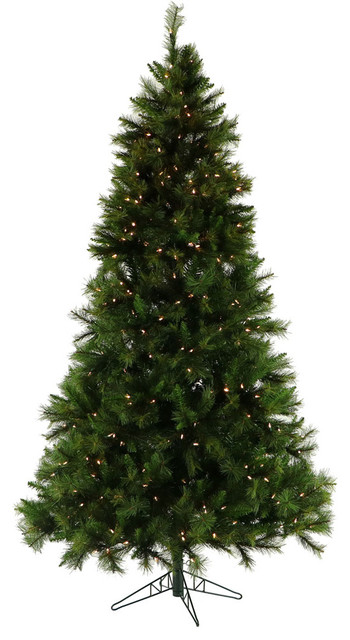 Most Realistic Artificial Christmas Tree.6 5 Pennsylvania Pine Artificial Christmas Tree With Clear Led Lights