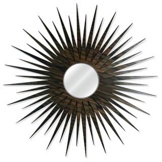 Midcentury Modern Decor 'MCM Starburst Mirror-Walnut', Wooden Sunburst Mirror - Midcentury ...