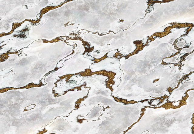 Marmoro Industrial Marble-Effect Photo Wall Mural, 368x254 cm