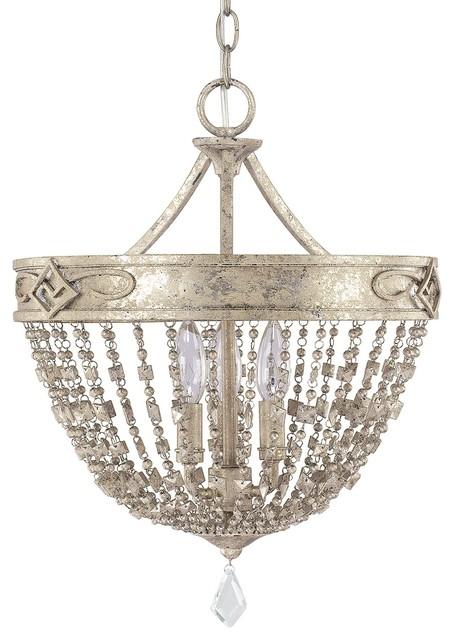 capital lighting 4284sq000pc duchess 3light dual mount pendant silver - Capital Lighting