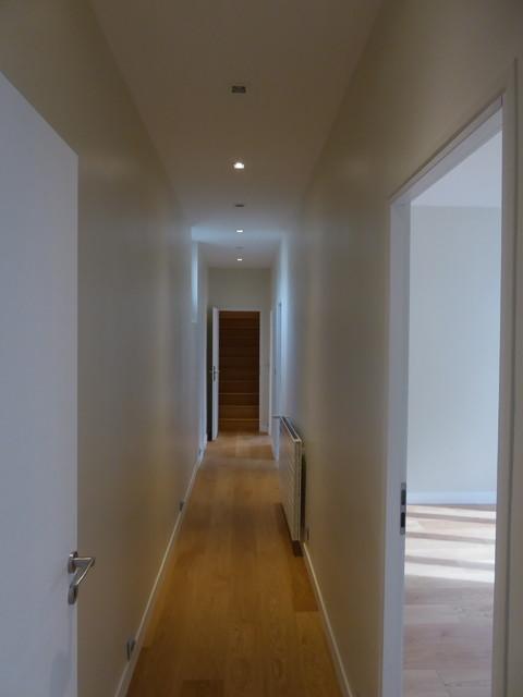 Rénovation couloir - Moderne - Couloir - Paris - par TRAVAUX PRIVÉS
