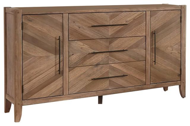 Coaster Scott Living Auburn White Washed Dresser Rustic Dressers By Fine Furniture