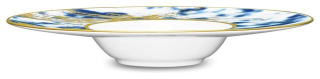 Noritake Jubilant Nights Gold Pasta/Soup Bowl, Set of 4