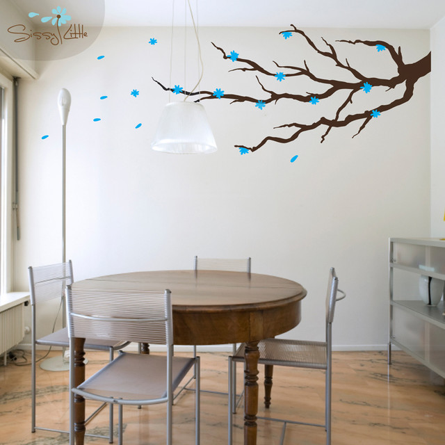 Blossom Branch Vinyl Decoration