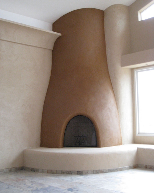 Humel Straw Bale Home With Clay Plaster San Diego By