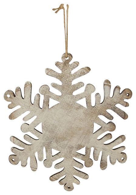 Wooden Snowflake Hanging Decor.