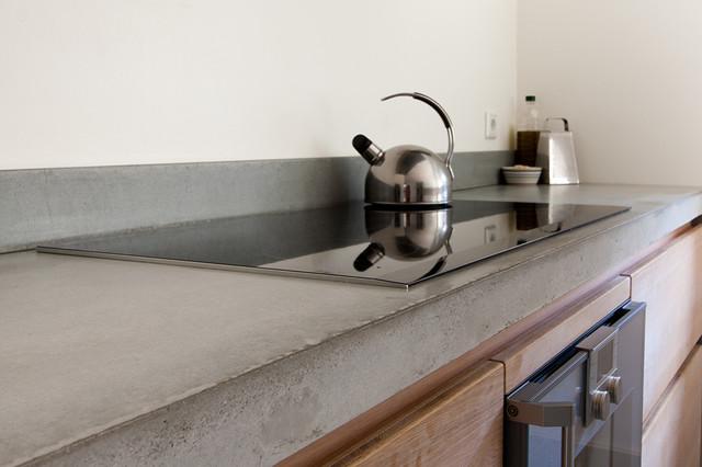 arbeitsplatten  betonoptik leichtgewichte fuer die kueche