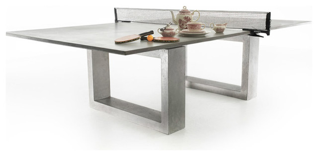 Concrete Ping Pong Dining Table Modern Outdoor Dining Tables Enchanting Modern Outdoor Furniture Los Angeles