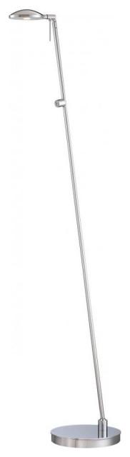 George Kovacs P4334-077 1-Light LED Floor Lamp, Chrome