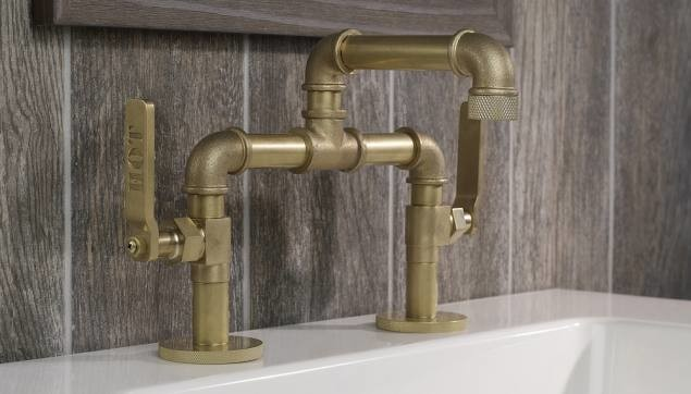 Industrial Faucet : Bathroom Sink Faucets - Industrial - Bathroom - Chicago - by Hydrology