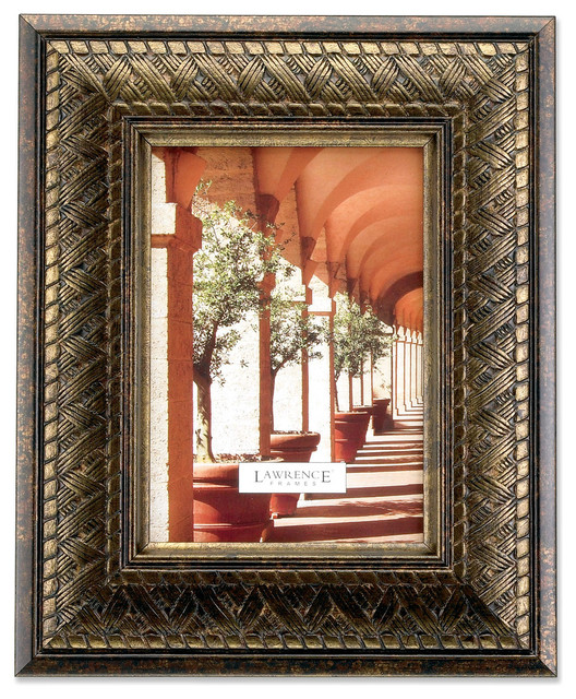 bronze basket weave 4x6 picture frame bronze 5x7 traditional picture frames
