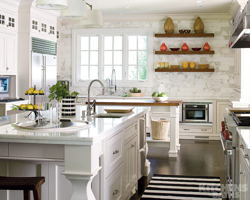 Kitchen Design: White Kitchens