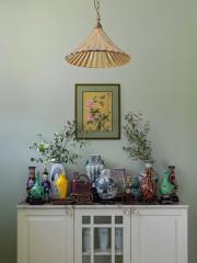 Houzz тур Квартира с коллекцией китайских ваз и гравюр (12 photos)