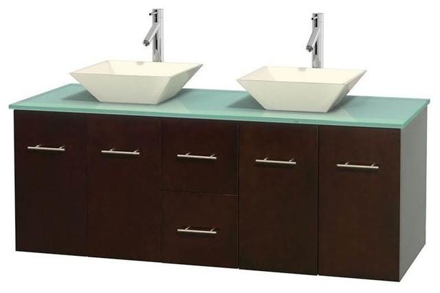 Shop Houzz Wyndham Collection Eco Friendly Wooden Double Bathroom Vanity In Espresso