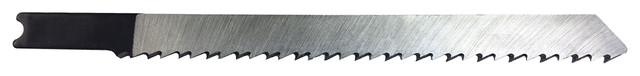 Jig Saw Blades, Wood-Cutting, Universal Shank, 5 Pc, 4 X Taper Ground, 10tpi.