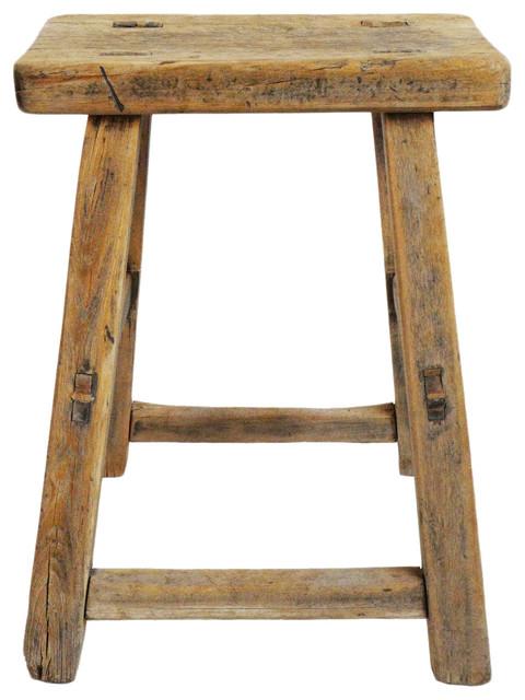Brilliant Consigned Elm Work Stool Bralicious Painted Fabric Chair Ideas Braliciousco