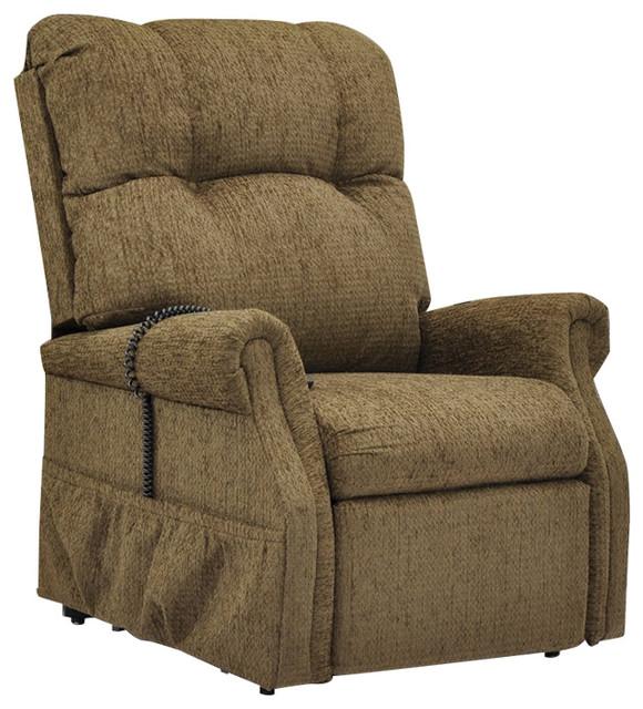 Med Lift Dawson Two-Way Reclining Lift Chair, Tan by Medlift