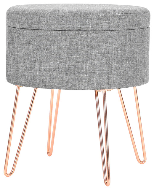 Prime Poly And Bark Hattie Small Round Storage Stool Short Links Chair Design For Home Short Linksinfo