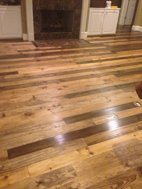 Staining Southern Yellow Pine Rustic Jackson By