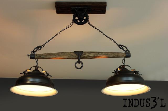 Luminaires Industriels Suspensions. Decoration Moderne Luminaires