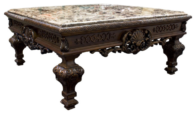 Traditional Living Room Coffee Table Victorian Tables