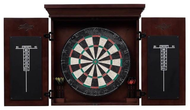 Athos Dart Board - Traditional - Darts And Dartboards - by ShopLadder