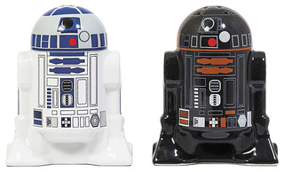 Star Wars(r) R2D2 R2Q5 Droid, Salt & Pepper Shakers