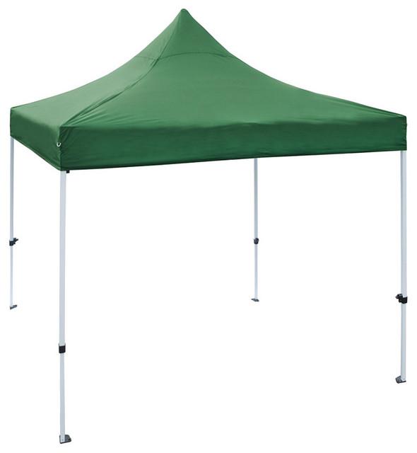 Aleko Gzf10x10gr Gazebo Tent 420d Oxford Canopy, Green, 10&x27;x10&x27;.