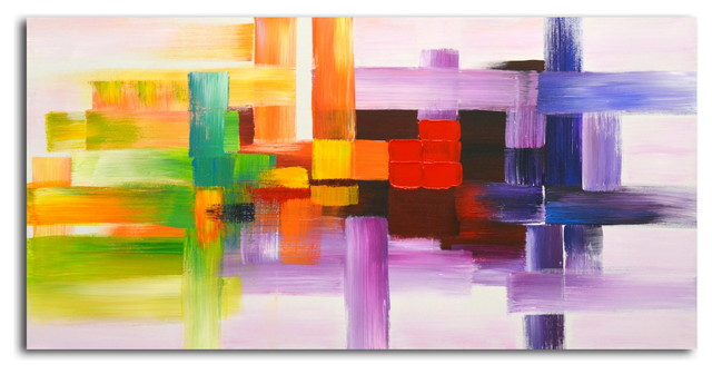 """derivitives Of Color"" Original Oil Painting On Canvas."