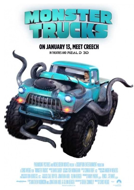 Monster Trucks Print Contemporary Prints And Posters By Posterazzi