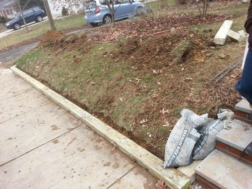 how to build a 4x6 retaining wall