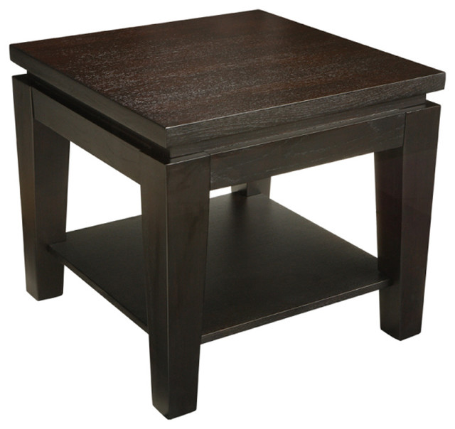 Beau Asia Square End Table