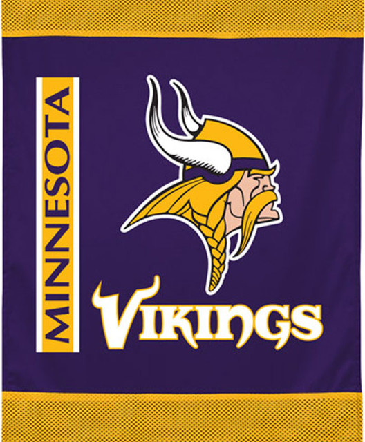 Nfl Minnesota Vikings Football Team Logo Wall Hanging