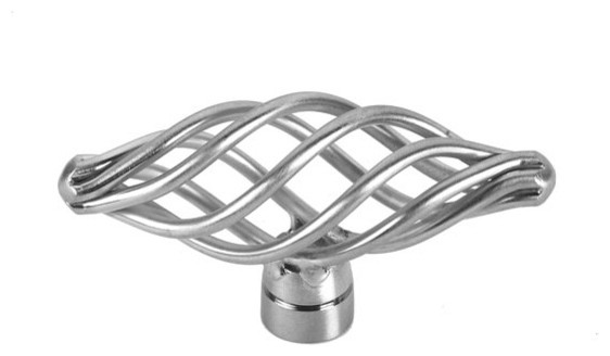 Fine Brushed Stainless Steel Knob, SD65432 - Contemporary ...