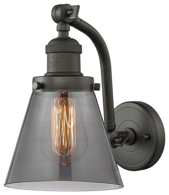 Oil Rubbed Bronze Innovations Lighting 203-OB-G62 1 Light Sconce