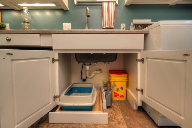Pet Friendly Laundry Room Contemporary Laundry Room