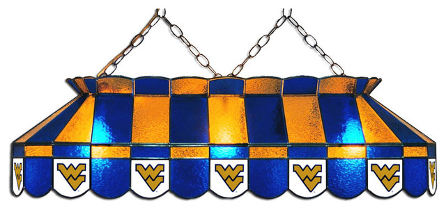 West Virginia Mountaineers Billiard Table Light Contemporary Pool Table  Lights