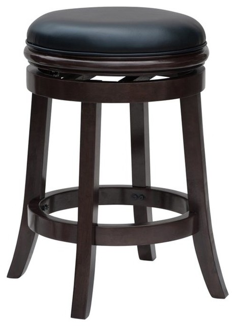 Dune Backless Counter Stool, Cappuccino.
